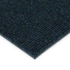 FLOMAT Modrá kobercová vnitřní čistící zóna Catrine, FLOMAT - 1,35 cm