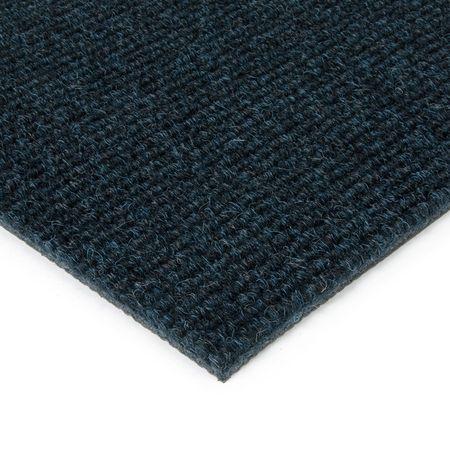 FLOMAT Modrá kobercová vnitřní čistící zóna Catrine - 100 x 200 x 1,35 cm