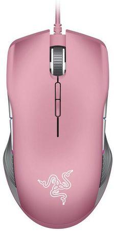 Razer miška Lancehead Tournament Quartz Edition, roza