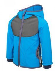 Unuo fantovska softshell jakna s flisom, modra