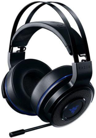 Razer Thresher 7.1 PlayStation 4-hez, fekete/kék (RZ04-02230100-R3M1)