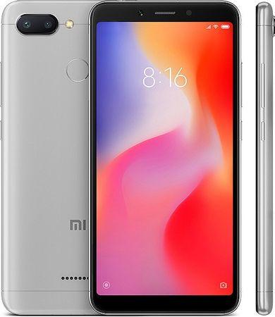 Xiaomi Redmi 6, 3GB/32GB, Global Version, šedý