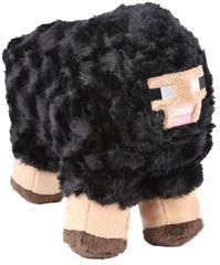 J!NX plišasta figura Minecraft Black Sheep