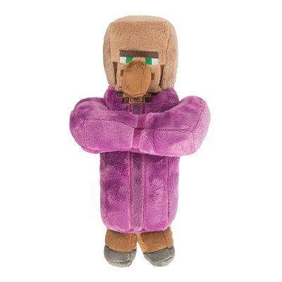 J!NX plišasta figura Minecraft Villager Priest, 30,48 cm