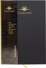 Pukka Pad trdi zvezek Concord, A4, črtni, 100-listni