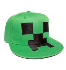 J!NX Minecraft Creeper Mob Hat Youth (tar 10)