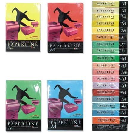 Paperline barvni pisarniški papir ML A4, 500 listov, slonovina