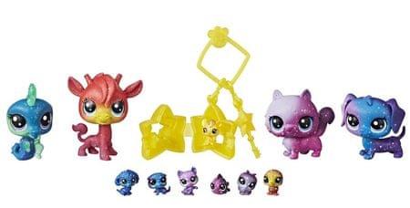 Littlest Pet Shop Kosmiczne zwierzęta, 10 szt.