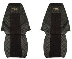 F-CORE Poťahy na sedadlá FX09, čierne