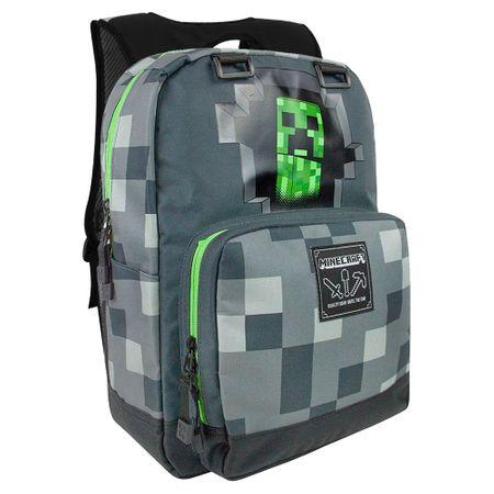 J!nx nahrbtnik Minecraft Creepy Creeper, temno siv