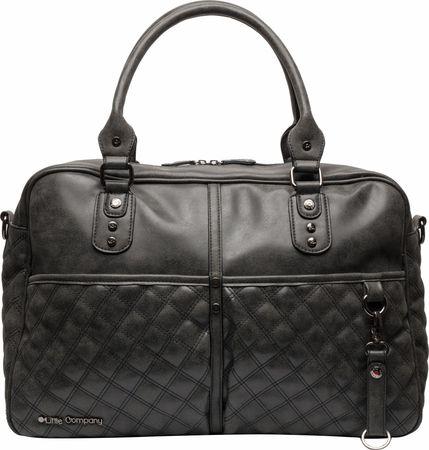 Little Company Pelenkázó táska Berlin Quilted, Black