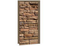 Dimex Fototapeta na dvere DL-023 Kamenný múr 95 x 210 cm