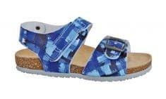 Protetika Chlapecké ortopedické sandály modrá