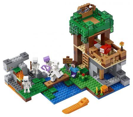 LEGO Minecraft TM 21146 Atak szkieletów