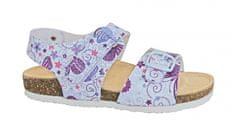 Protetika Dívčí ortopedické sandály - bílé