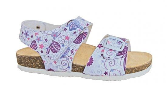 Protetika Dívčí ortopedické sandály 29 bílé