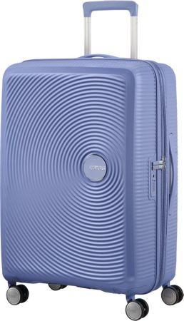 American Tourister Soundbox 67 Bőrönd, Denim Blue