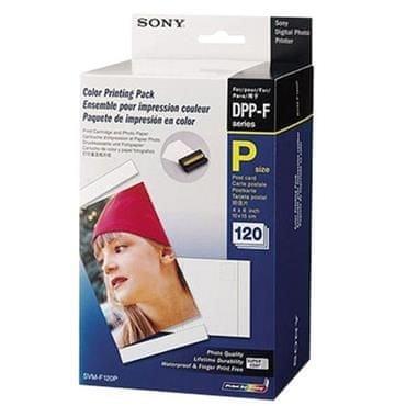 Sony papir in kartuše SVM-F120P za tiskalnik DPP-FP