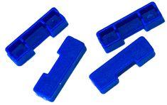 Matrix Vložky Na Kostričku Winder Colour Indicators Dark Blue Tmavo Modrá 4 ks