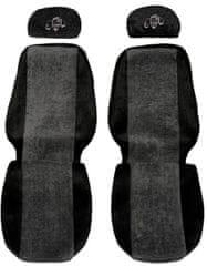 F-CORE Poťahy na sedadlá PS09, sivá