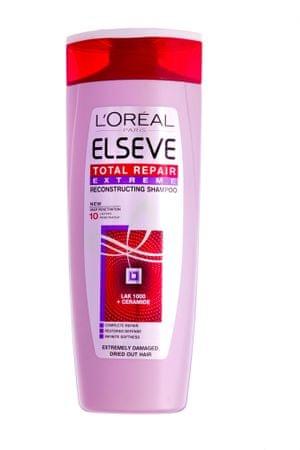 Loreal Paris šampon za zelo poškodovane in suhe lase Elseve Total Repair Extreme, 400 ml