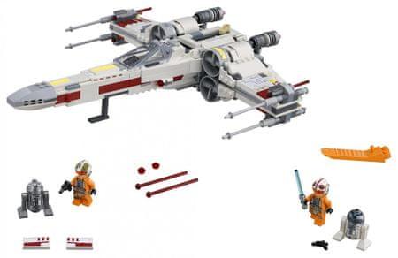 LEGO letalo X-wing Starfighter Star Wars (75218)