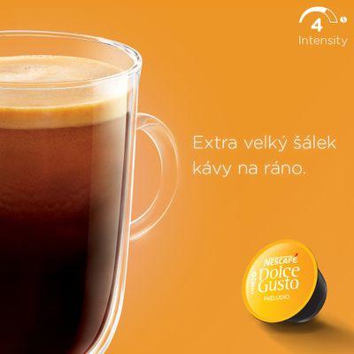 NESCAFÉ Dolce Gusto Preludio XL káva