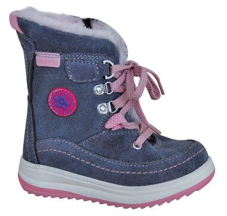 ef9bba96ec5a Protetika dívčí zimní boty Bory 24 sivá