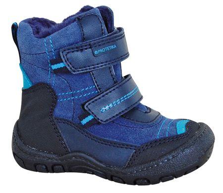 Protetika chlapecké zimní boty Rolo 19 modrá
