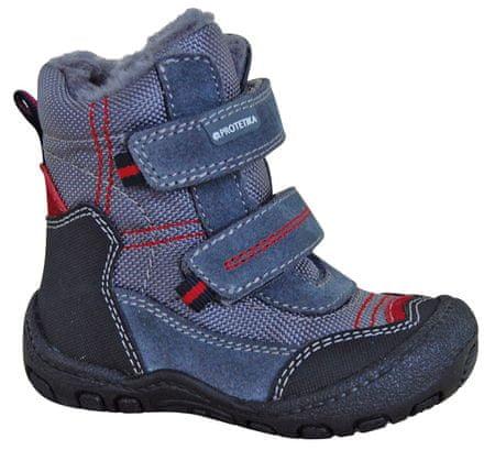 Protetika chlapecké zimní boty Rolo 19 sivá/modrá