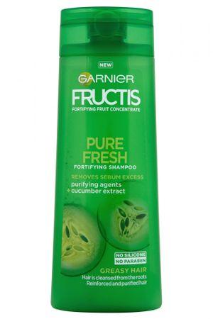 Garnier šampon za mastne lase Fructis Pure Fresh, 250 ml