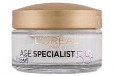 Loreal Paris dnevna krema za ponovo učvršćivanje Age Specialist Anti-wrinkle 55+, 50 ml
