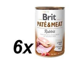 Brit Paté & Meat Rabbit 6x400g