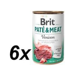 Brit Paté & Meat Venison 6x400g