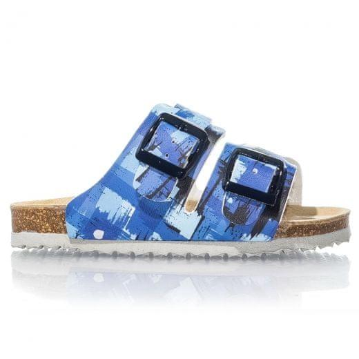 Protetika Chlapecké ortopedické pantofle 27 modrá