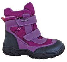 Protetika dívčí zimní boty s membránou Emika