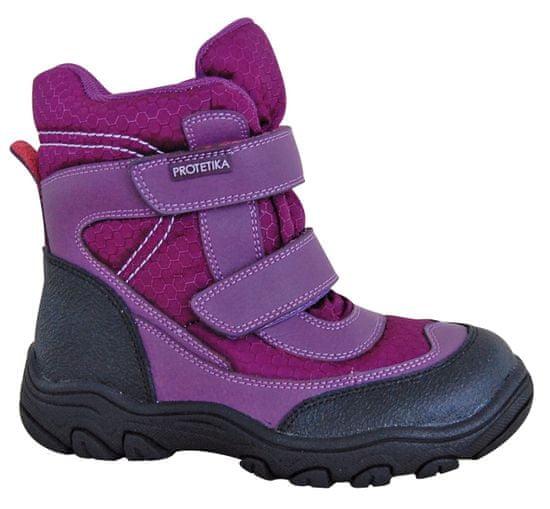 Protetika dívčí zimní boty s membránou Emika 34 fialová