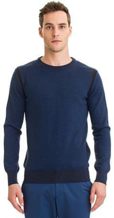 Galvanni moški pulover Halle, M, temno modra