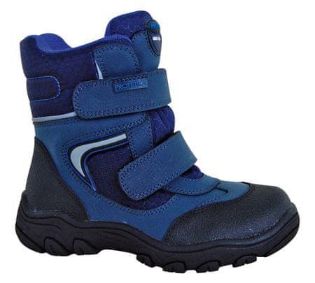 Protetika chlapecké zimní boty s membránou Torsten 29 modrá