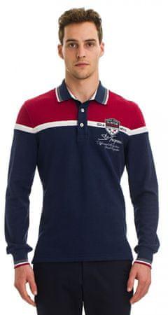 Galvanni moška polo majica, L, temno modra