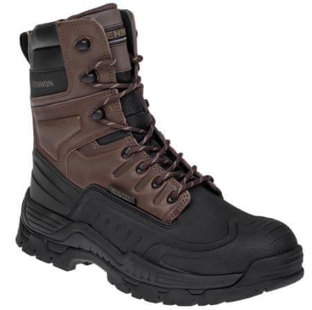 Bennon Vysoká pracovná obuv Kentaur O2 s membránou hnedá/čierna 45