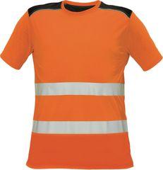 80a9a9152710 Červa Reflexné tričko Knoxfield žltá XS