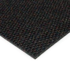FLOMAT Černá kobercová zátěžová vnitřní čistící zóna Fiona, FLOMAT, 01 - 1,1 cm