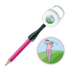Girls Golf Sisters in Law dámské Golf Pencil & Ballmarker