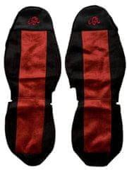 F-CORE Poťahy na sedadlá PS10, červené