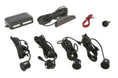 M-Tech Parkovací asistent s digitálnym displejom, zadný, farba čierna, priemer senzorov 21,5 mm