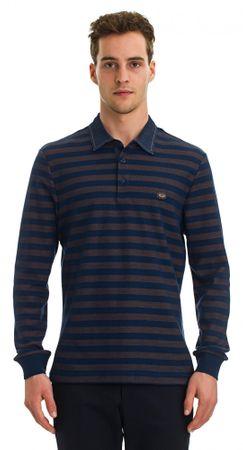 Galvanni moška polo majica Labor, M, temno modra