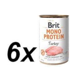 Brit Mono Protein Turkey 6x400g