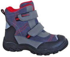Protetika buty zimowe za kostkę chłopięce Hant