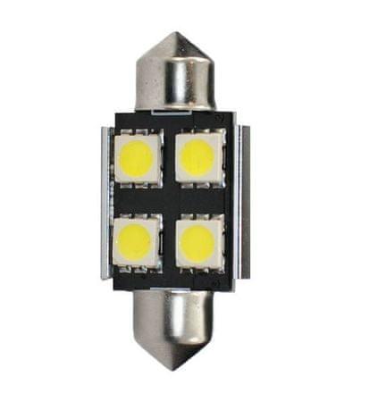 M-Tech LED žiarovky - typ C5W, biela, 1W